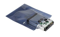 """Supershield 4"""" x 24"""" Top Open Static Shield Bag - Pack of 100"""