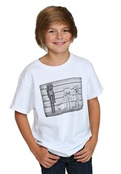 Minecraft Lineup Enderman, Zombie, Creeper Boys Shirt (Youth X-Large)