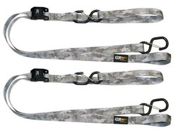 EK Ekcessories Power Cat Pink Camoflauge Pattern Clip Tie Down - 2 Pack