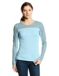Columbia Women's Sportswear Bug Shield Long Sleeve Shirt - Bluetime / M