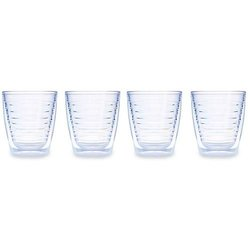 Tervis 12 ounce Clear Tumbler - Set of 4