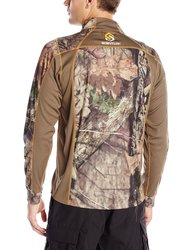 Scent-Lok Men's Baseslayer 1/4-Zip Shirt - Mossy Oak Country - Size: Large
