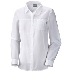 Columbia Women's Insect Blocker II Button Up Shirt - White - Size: XS
