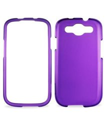 Reiko Durable Crystal Snap-On Case for Samsung Galaxy S3 - Purple