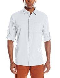 Columbia Men's Insect Blocker II Long-Sleeve Shirt - White - Size: Small