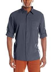 Columbia Men's Insect Blocker II Long-Sleeve Shirt - India Ink - Size: Small