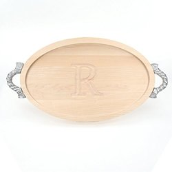 BigWood Boards 420-RP-R Carving Board with Handles