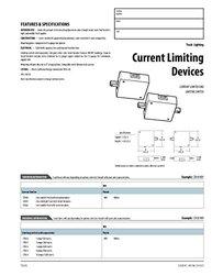 Lithonia Lighting LTA53 WH U White Track Lighting Current Limiting Switch, 960W