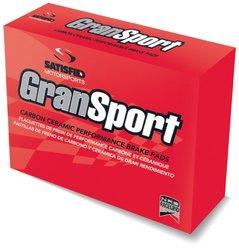 Satisfied Brakes GS6-D568 GranSport Carbon Ceramic Disc Brake Pads