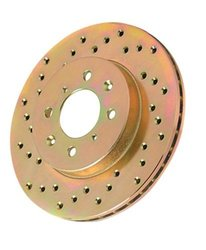 Power Stop JBR585L Cross Drilled Performance Brake Rotor - Left