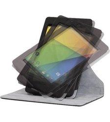 "Hipstreet BK Eclipse Google Nexus Rotating Case - Black - Size: 7"""