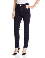 Gloria Vanderbilt Women's Petite Amanda Straight Jean - Rinse - 8 Short