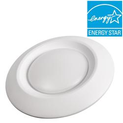 """Commercial Electric 6"""" Soft White Recessed LED Can Disk Light"""