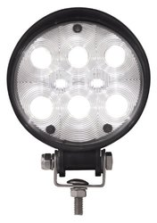 """Grand General Round High Intensity 8 LED Work Light - Size: 4.5"""""""