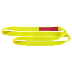 Lift All 16' Heavy Duty Polyester Endless Web Sling - Yellow