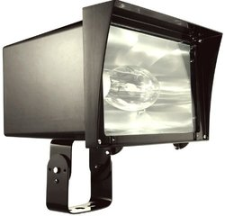 RAB FZH320PS480 Floodzilla 320W-Metal Halide Ps 480V HPF Pulse Start + Lamp Trunnion-Bronze Color