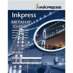 Inkpress Metallic 255gsm/10mil 17x22 25 Sheets