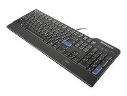 Lenovo Preferred Pro USB Fingerprint Keyboard - Black (0C52683)