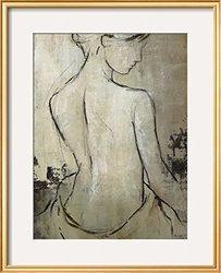 Art Spa Day IV Framed Giclee Print - White