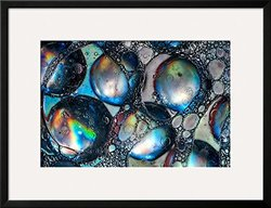 Art Bolitas by Ursula Abresch Framed Art Print - Blue