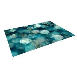 Kess Inhouse Ingrid Beddoes Outdoor Floor Mat - Shades of Blue