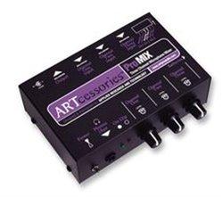 ART Promix 3 Channel Microphone Mixer 12V Phantom Power