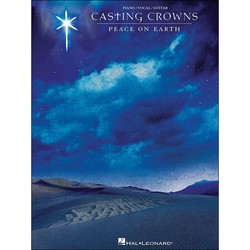 Hal Leonard Casting Crowns Peace on Earth for Piano Vocal Guitar - Paperback