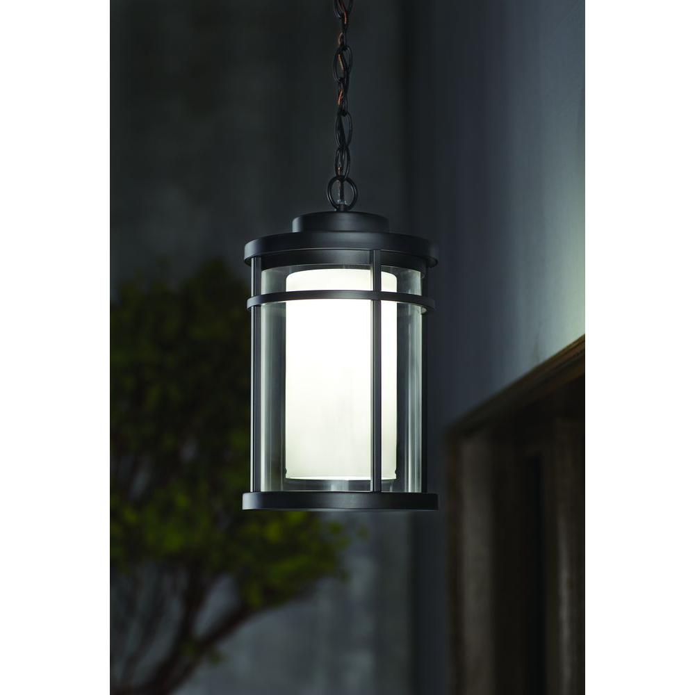 Home Decorators Collection Outdoor Led Hanging Light Black Ds5981bk Blinq