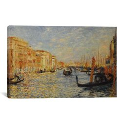"ICanvas Art Grand Canal Venice Canvas Print - Size: 40""x26"""