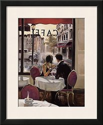 "Art After Hours Framed Art Print - White - Size: 20""x17"""