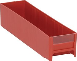 Quantum IDR201RD 11-Inch Long by 2-3/4-Inch Wide by 2-1/2-Inch High Patient Drawers, Red, 24-Pack