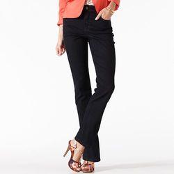 Gloria Vanderbilt Women's Amanda Straight Leg Jeans - Blue - Size:12 Short