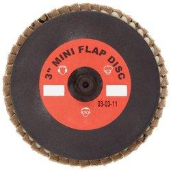 Merit Type 27 120 Grit Mini Powerflex Abrasive Flap Disc - Pack of 10