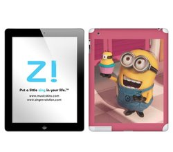 Zing Revolution Despicable Me 2 Tablet Cover Skin for iPad 2