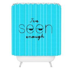 """DENY Designs Nick Nelson Ive Seen Enough 2 Shower Curtain - 69"""" x 72"""""""