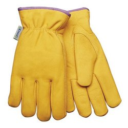 Kinco 98RLW L Women Lined Full Grain Cowhide Leather Glove - Large