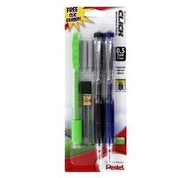 Pentel Twist Erase Click Mechanical Pencil Set (PL75-5)