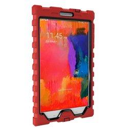 Samsung Pro 8.4 - Shockdrop - Rugged Case - Red - Black