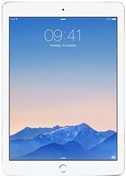 "Apple iPad Air 2 9.7"" Tablet 128GB Wi-Fi + 4G LTE - Silver (MH322LL/A)"