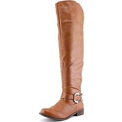 Bucco Women's Shia Riding Boots - Tan - Size: 8.5