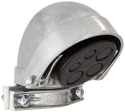 Hubbell-Raco 2405 EMT or Rigid/IMC Clamp Type Aluminum Entrance Head, 1-1/4-Inch