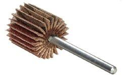 "Merit 3/4"" Dia Round Shank Mini Grind-O-Flex Abrasive Flap Wheel - 10-Pack"