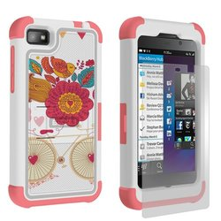 BB Z10 Tri Shield Bird of Paradise - Retail Packaging - White/Bird of Paradise