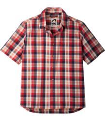 Mountain Khakis Deep Creek Crinkle Shirt - Men's SIREN RED