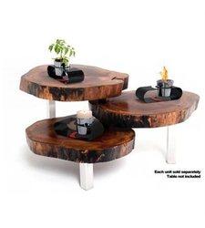 Decorpro 10011 Si Portable Table Top Fireburner - Black/Red