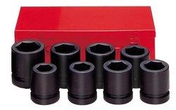 Ampro A5630 8 Piece 1-Inch Drive Impact Socket Set
