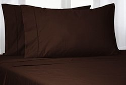 Addy Home 800TC 100% Egyptian Cotton BedSheets - Chocolate - Size: Queen