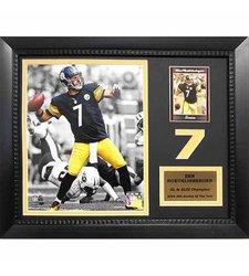 "Encore NFL San Francisco 49ers Framed Joe Montana Print Size:11""x14"""