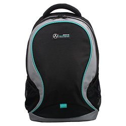 Mercedes AMG Petronas Travelers Laptop Backpack - Black/Grey