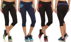 Style & Co Women's Tummy Flattening Capris 3-Pack - Assorted - Size: M